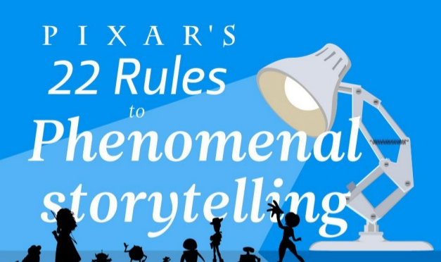 22 Storytelling tips as told by Pixar